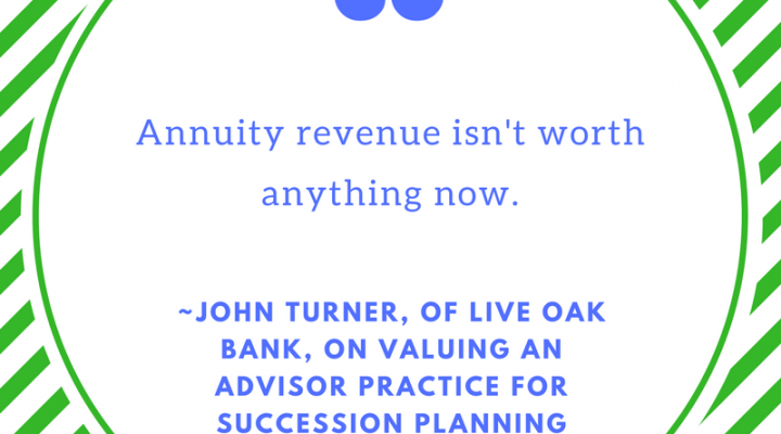 John Turner of Live Oak Bank on Succession & Exit Planning